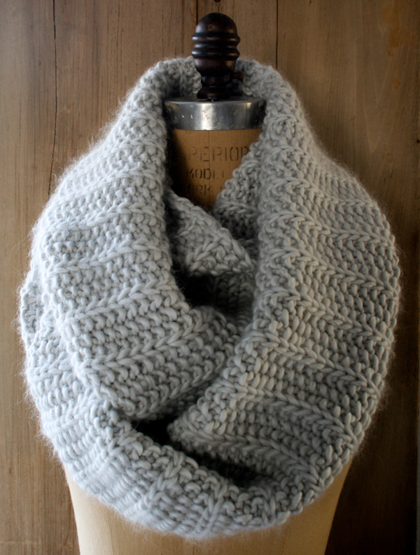 Free Knitted Cowl Pattern Nicola Loves